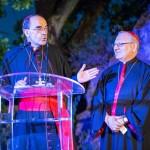 Le cardinal Barbarin et Mgr Sako © Tekoaphotos