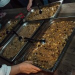 Le biryani préparé par la communauté chaldéenne © Tekoaphotos