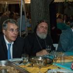 JJ Queyranne et le père Eklemandos, copte orthodoxe © Tekoaphotos