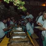 Repas des bénévoles © Tekoaphotos