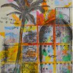 21 - Attente dans la confiance - fusain et aquarelle sur papier - 40x50 Est. 650 €