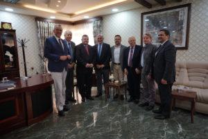Avec le maire de Mossoul